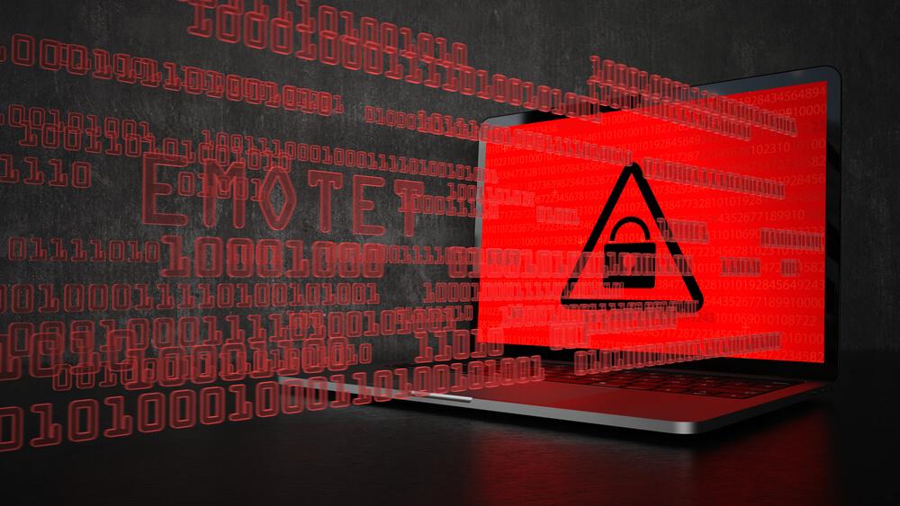 Ransomware concept